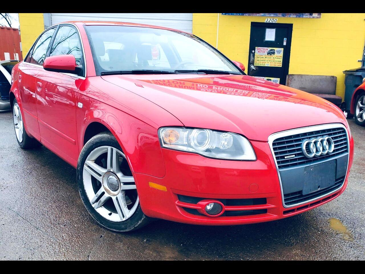 Audi A4 2.0T quattro 2007