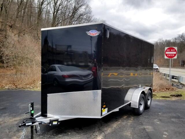 2019 AmeraLite 7x14 ALDR, All Aluminum, Ramp Door, 6'' Extra Height
