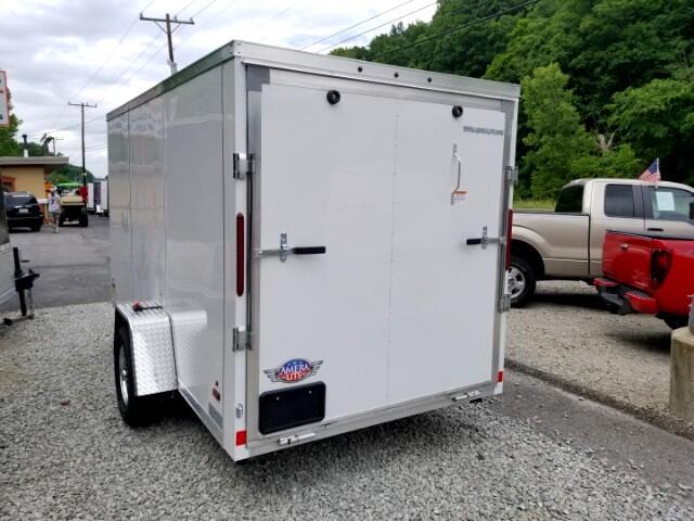 2019 AmeraLite 6x12 ATTX, All Aluminum, Ramp Door