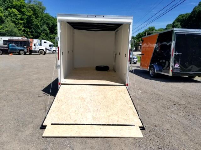 2019 US Cargo 7x12 ULAFT, 6'' Extra Height, Ramp Door