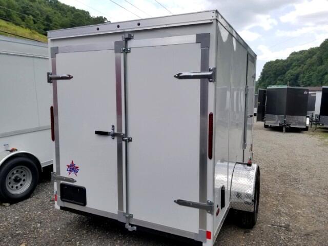 2019 US Cargo 6x10 ULAFT, Barn Doors