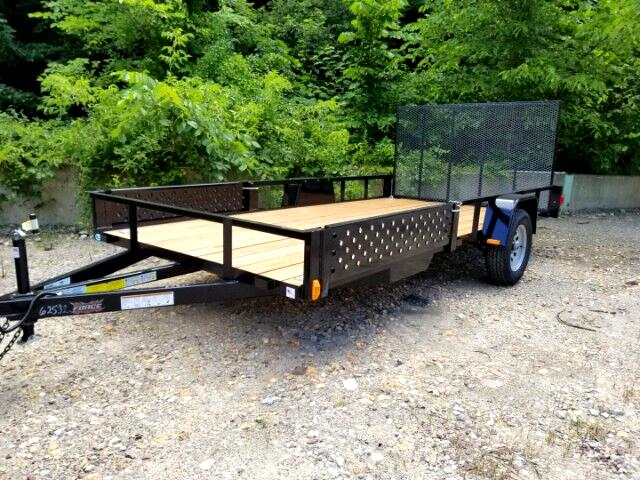 2019 Forest River USASG6512SA 7x12, Single Axle, ATV Package