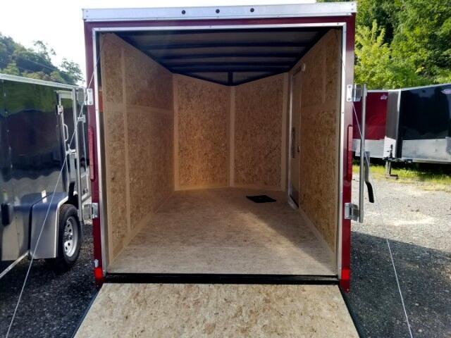 2019 US Cargo 6x10 ULAFTX, Ramp Door