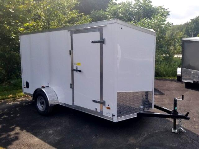 2019 US Cargo 6x12 ULAFTX, Ramp Door