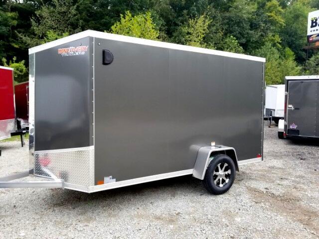 2019 Discovery 6x12 Aluminum, 6'' Extra Height, Ramp Door