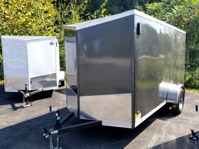 2019 US Cargo 6x12 ULAFTX, Ramp Door