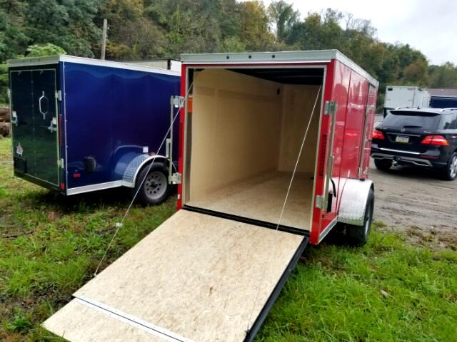 2019 US Cargo 5x10 ULAFT, Ramp Door