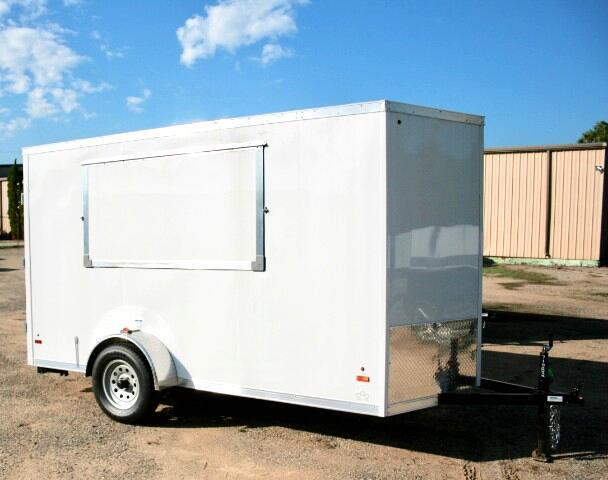 2019 US Cargo 6x12 ULAFT Concession Trailer, 6'' Extra Height