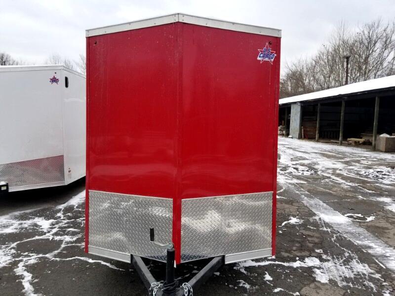 2019 US Cargo 6x12 ULAFT, 6'' Extra Height, Ramp Door