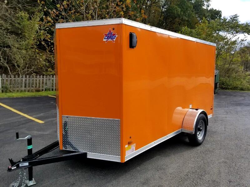 2019 US Cargo 6x12 ULAFT, Ramp Door