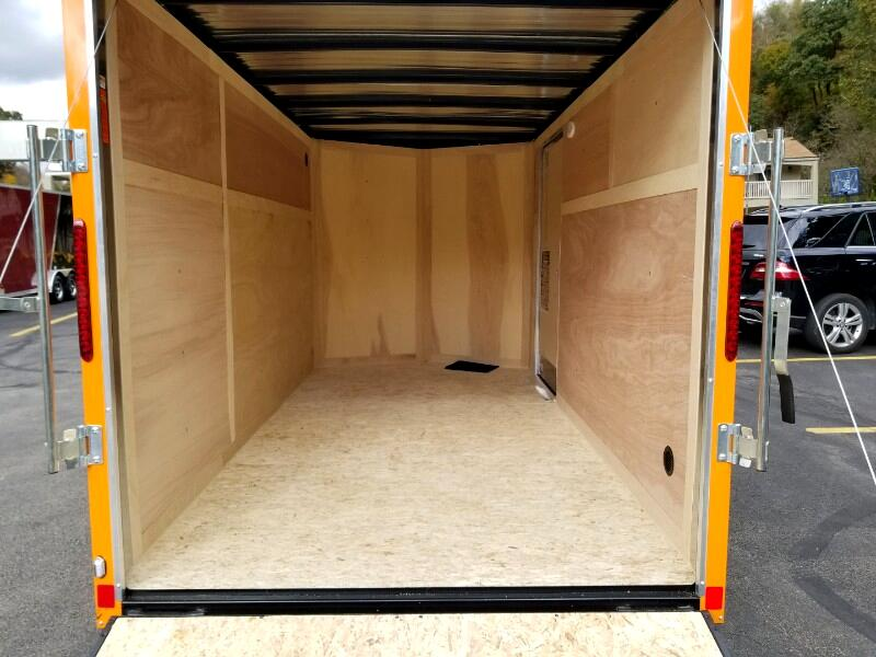 2019 US Cargo 6x12 ULAFT, Ramp Door