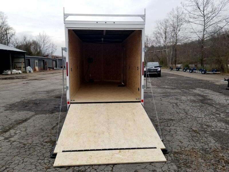 2019 US Cargo 7x16 ULAFT, 12'' Extra Height, 9990 GVW, Ramp Door