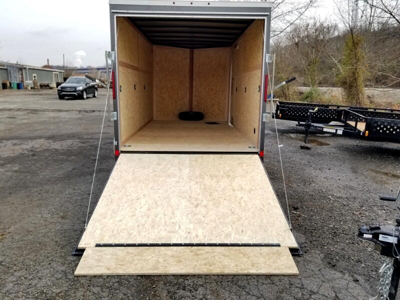 2019 US Cargo 7x14 ULAFT, 6'' Extra Height, Ramp Door