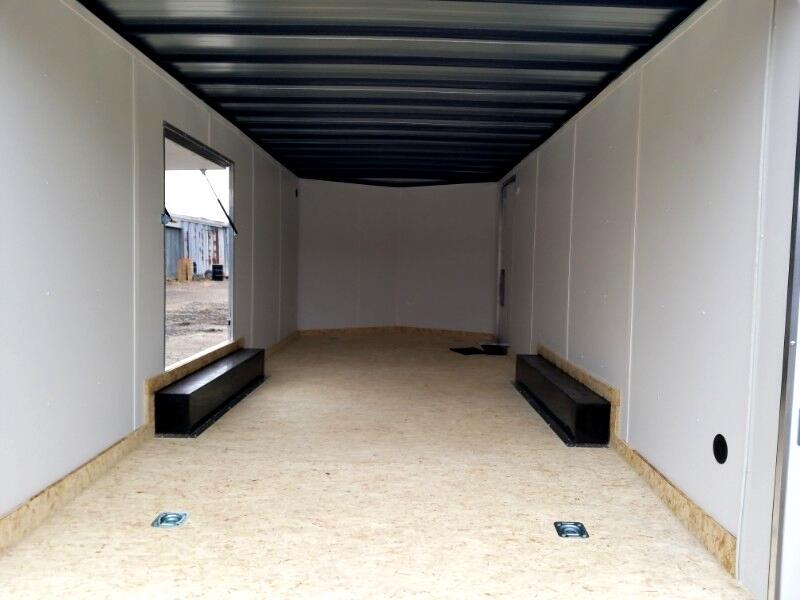 2019 US Cargo 8.5x20 ULAFT, Car Hauler, Flip Up Escape Door