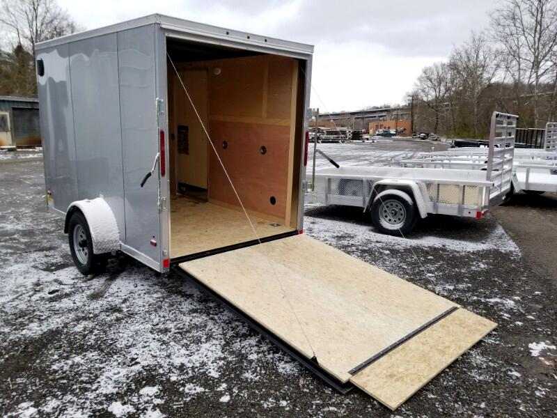 2019 US Cargo 6x10 ULAFT, 6'' Extra Height, Ramp Door