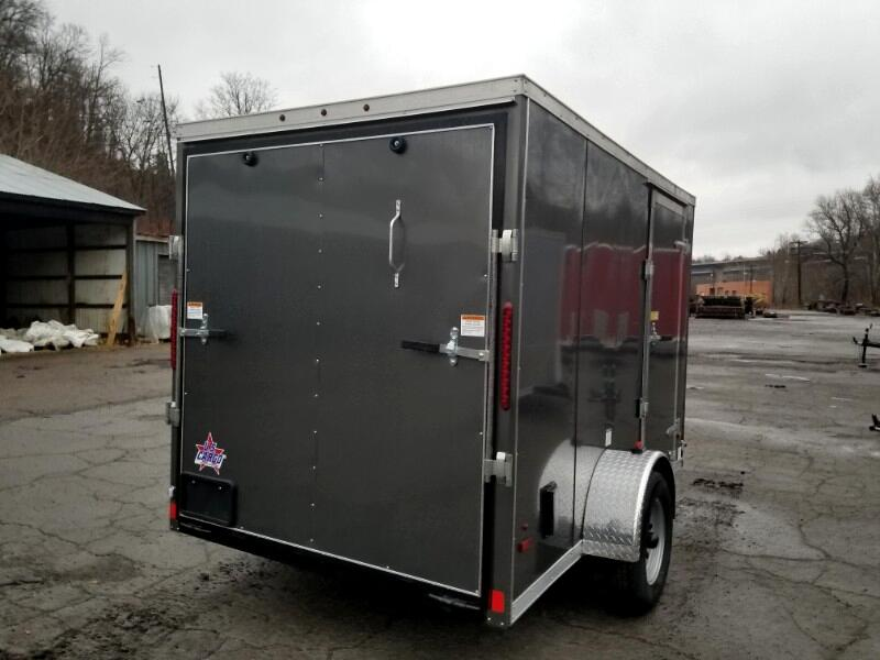 2019 US Cargo 6x10 ULAFT, Ramp Door