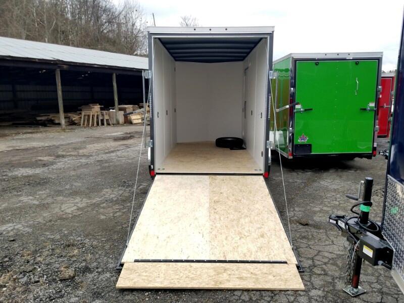 2019 US Cargo 6x12 ULAFT, 12'' Extra Height, Ramp Door