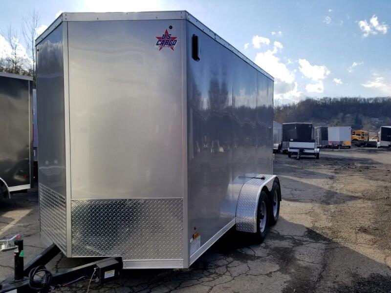 2019 US Cargo 6x12 ULAFT, Tandem Axle, Ramp Door, 6'' Extra Height