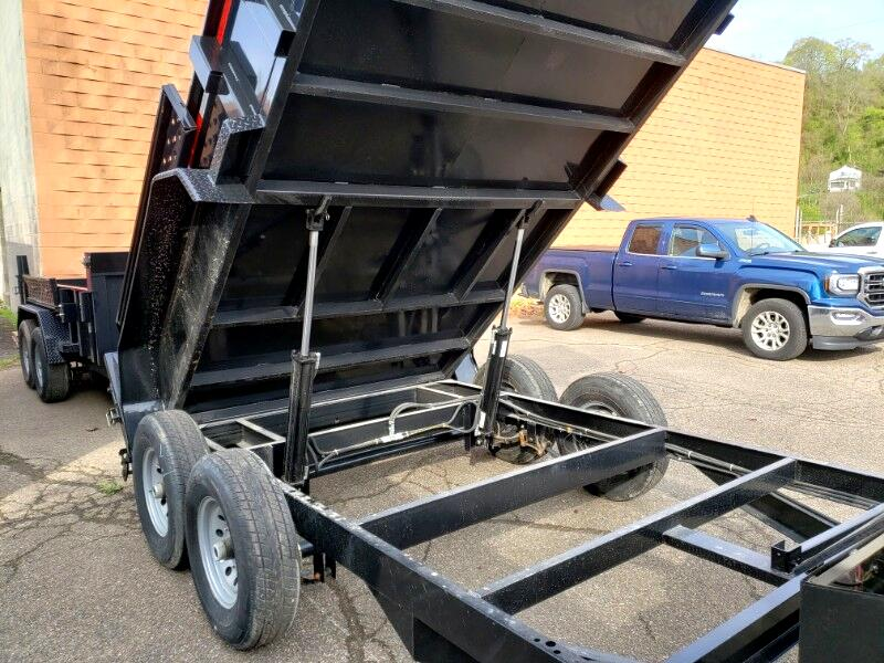 2019 Forest River Dump Trailer 7x12, Derated to 9990 GVW