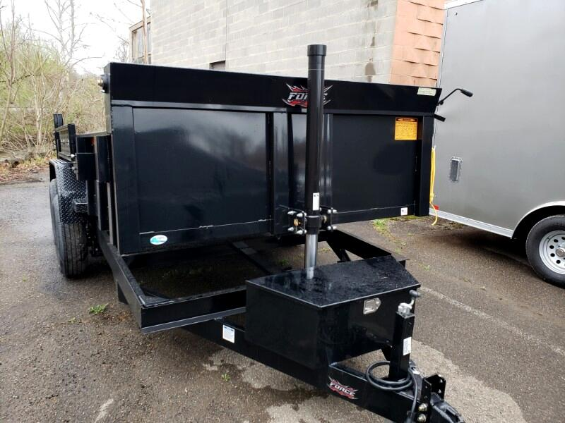 2019 Forest River Dump Trailer 7x14 Telescopic Hoist, Derated to 9990 GVW