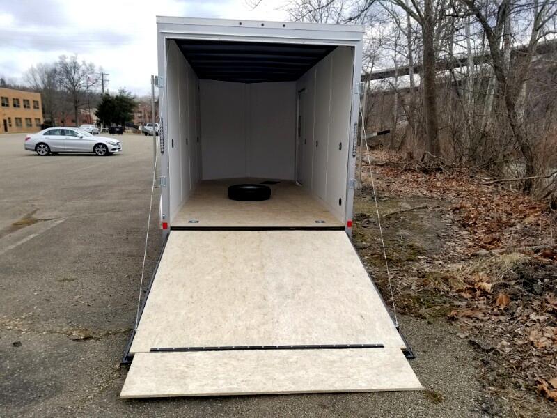 2019 US Cargo 7x16 ULAFT, 12'' Extra Height, Ramp Door