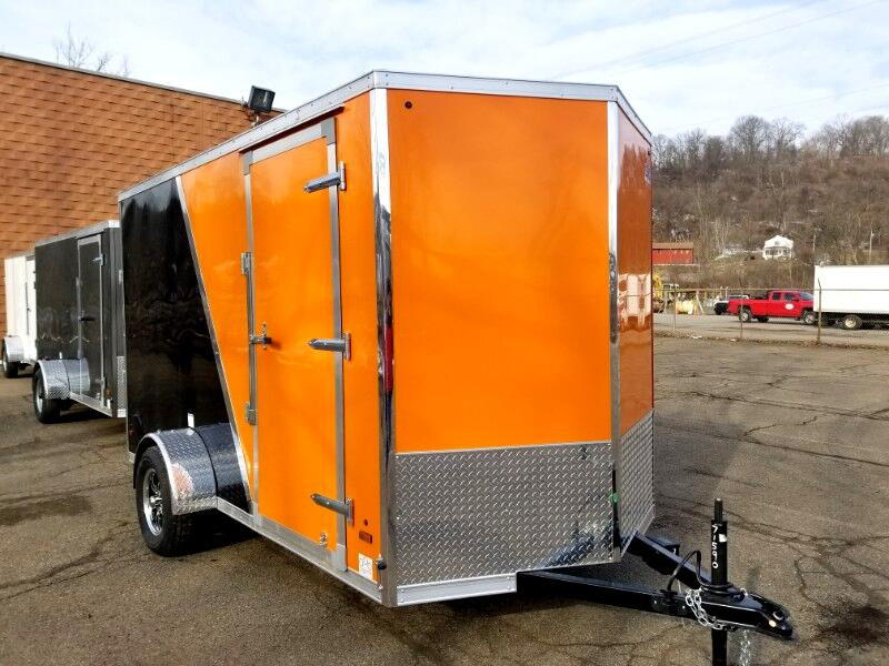 2019 US Cargo 6x12 ULAFT, 6'' Extra Height, Electric Brakes, Ramp Doo