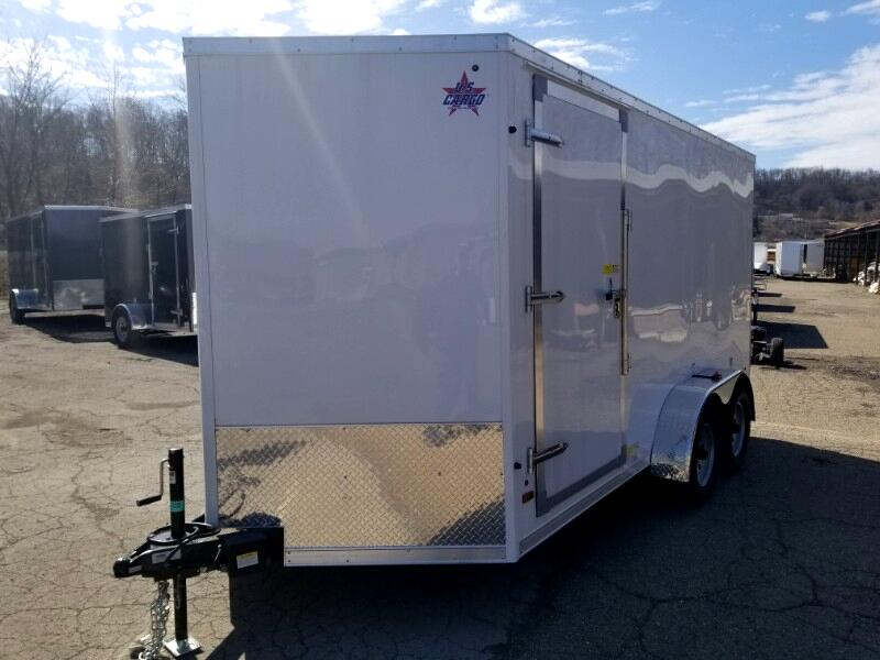 2019 US Cargo 7x14 ULAFT, 6'' Extra Height, Concession Trailer