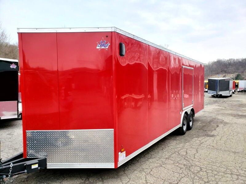 2019 US Cargo 8.5x24 ULAFT, 9990 GVW, Car Hauler