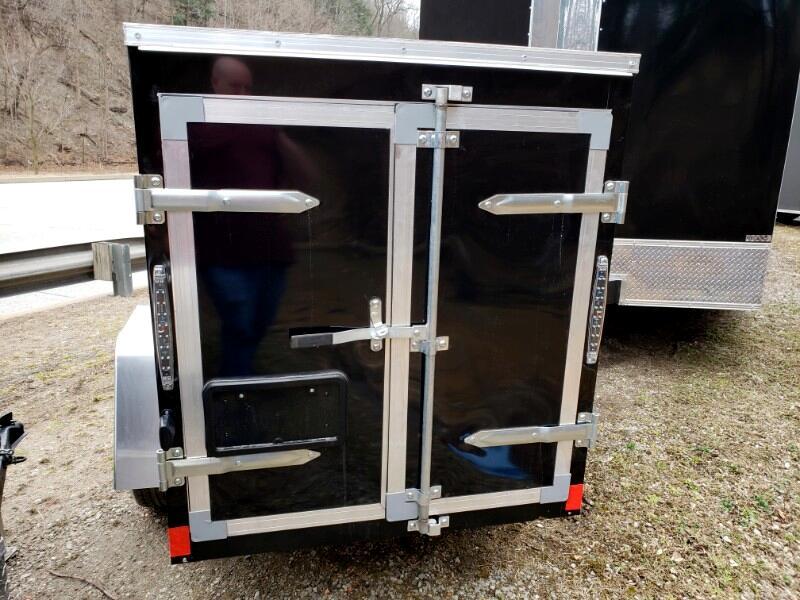 2020 Discovery 4x8 Rover ET, Double Door Barn Doors