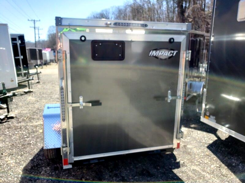 2019 Impact Trailers 5x8 Tremor, Ramp Door