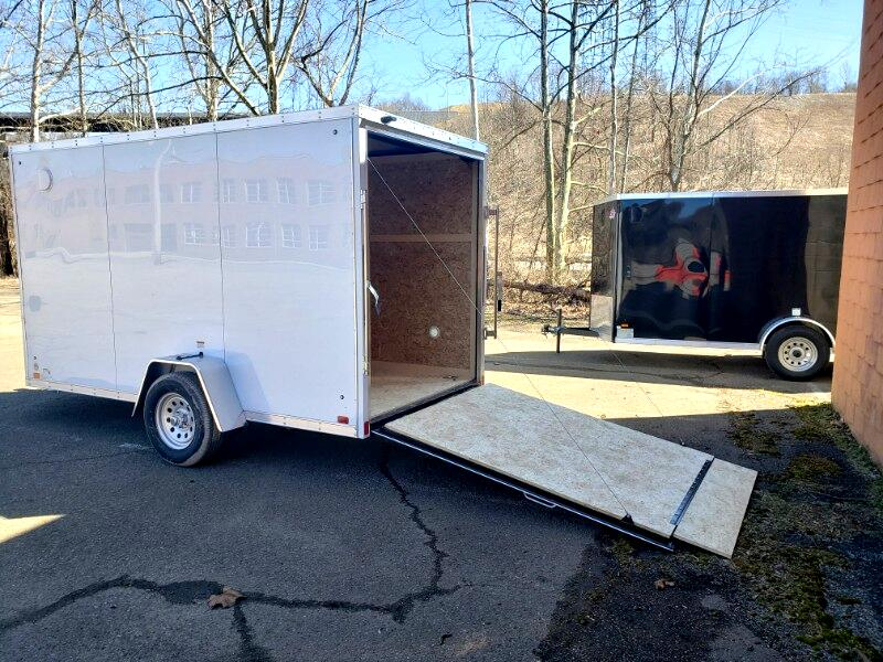 2020 Discovery 6x12 Rover SE, 6'' Extra Height, Ramp Door
