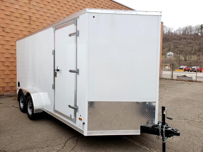 2019 US Cargo 7x16 ULAFT, 6'' Extra Height, Barn Doors