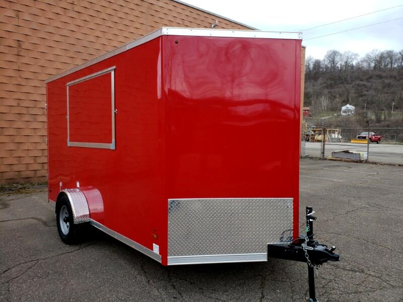2019 US Cargo 7x12 ULAFT, Concession Trailer, 6'' Extra Height