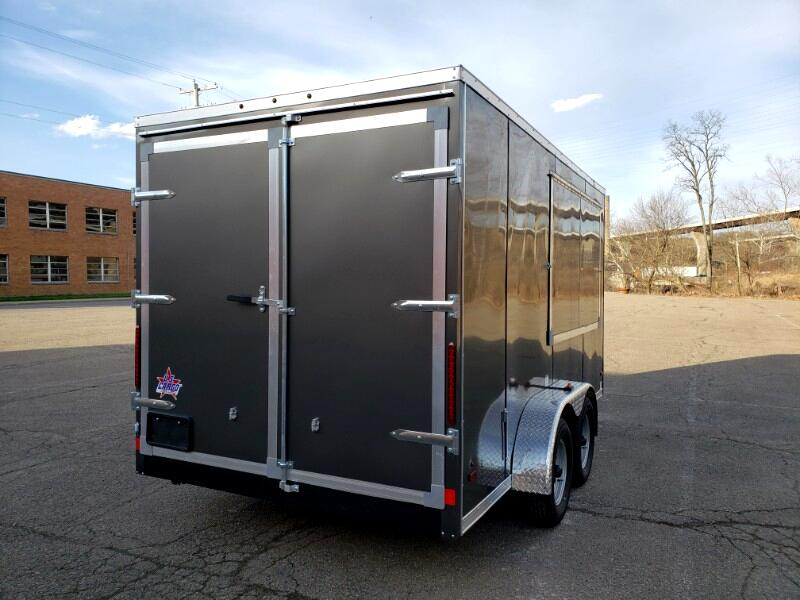2019 US Cargo 7x14 ULAFT, Concession Trailer, 6'' Extra Height