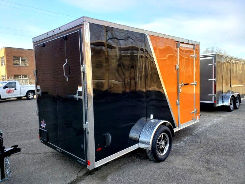 2019 US Cargo 6x12 ULAFT, 6'' Extra Height UTV Package, Ramp Door