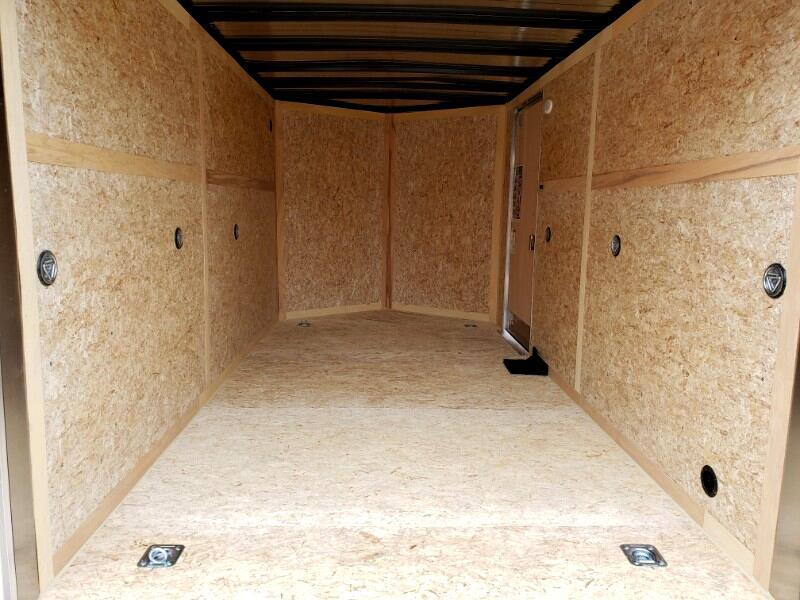 2019 US Cargo 7x14 ULAFT, 6'' Extra Height, Ramp Door, Ladder Racks