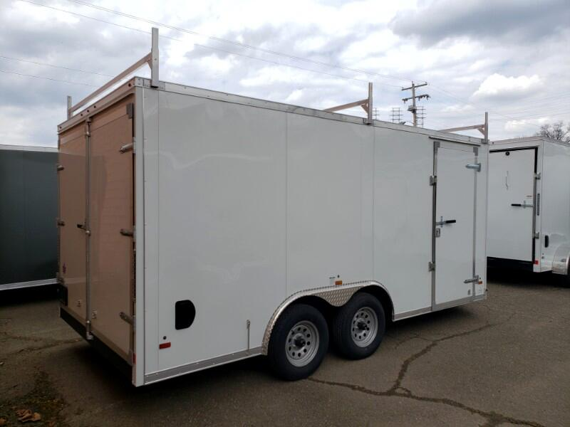 2019 US Cargo 8.5x16 ULAFT, Barn Doors, Contractor Package