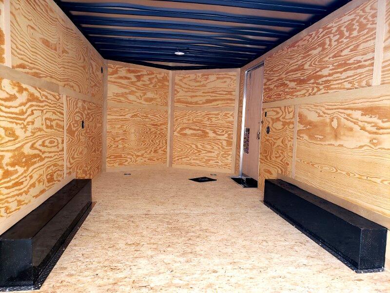 2019 US Cargo 8.5x16 ULAFT, Barn Doors, Contractor Package