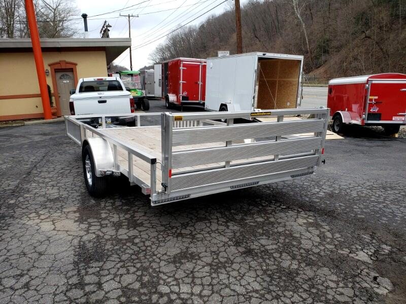 2019 H&H Aluminum Utility 7x14 with ATV Side Ramps