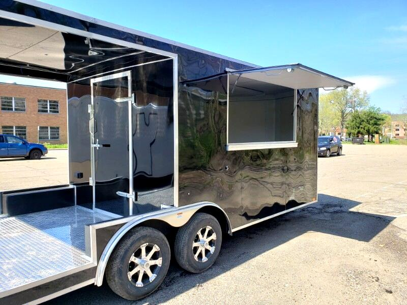 2020 Discovery 8.5x20 Challenger ET, Porch Trailer