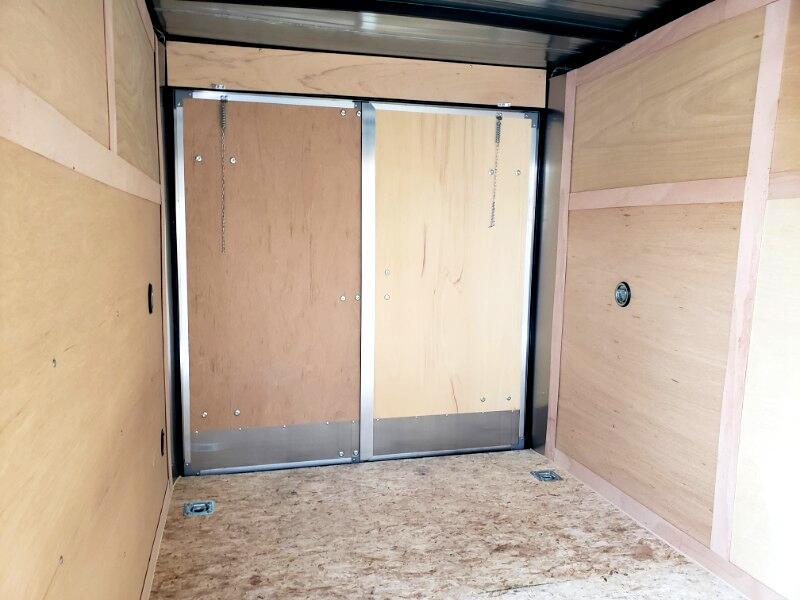 2020 US Cargo 6x12 ULAFT, Barn Doors