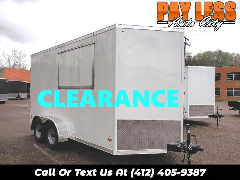 2019 US Cargo 7x14 ULAFT, 12'' Extra Height, Concession Trailer