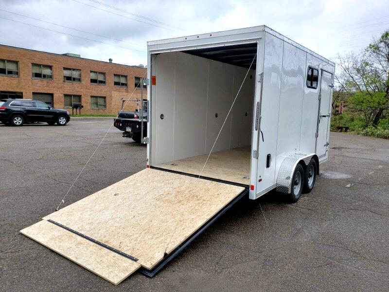 2019 US Cargo 7x14 ULAFT, 12'' Extra Height, Ramp Door, WIndow