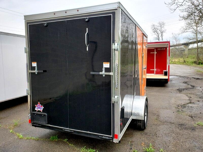 2020 US Cargo 6x12 ULAFT, 6'' Extra Height, Ramp Door