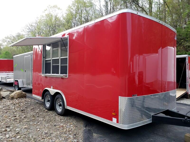 2020 US Cargo 8.5x16 ULAFT, 6'' Extra Height, Concession Trailer