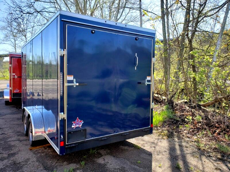 2019 US Cargo 7x16 ULAFT, 12'' Extra Height, Ramp Door