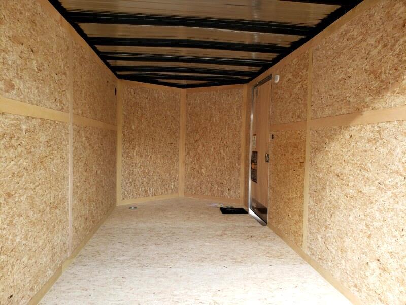 2020 US Cargo 7x14 ULAFT, 6'' Extra Height, Barn Doors
