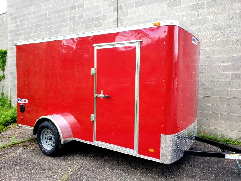 2020 Bravo Trailers 6x12 Hero, Ramp Door