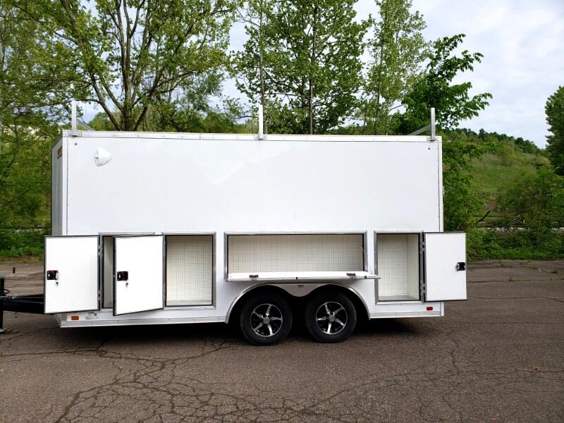 2020 Discovery 8.5x16 Challenger SE, Tool Crib, Walk on Roof