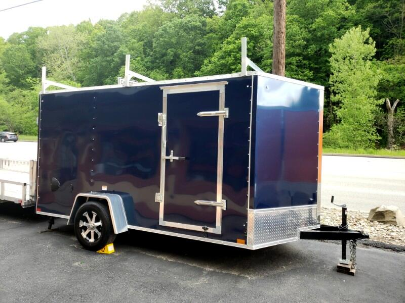 2020 Discovery 7x12 Rover ET, Tool Crib, Ladder Racks